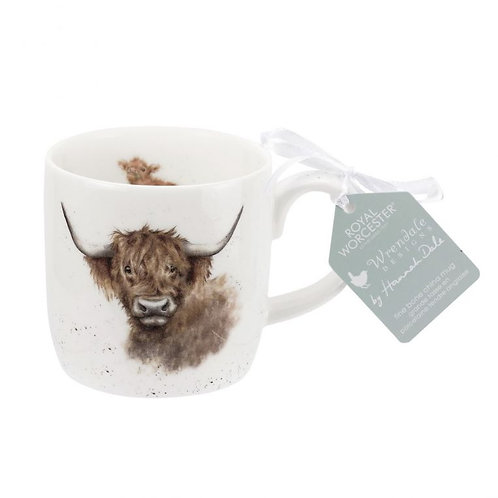 Wrendale Royal Worcester Highland Cow Mug