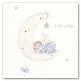 A baby boy Berni Parker Card