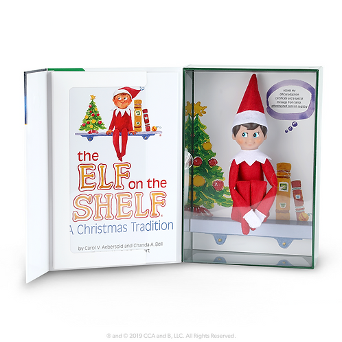 Elf on the Shelf  - A Christmas Tradition - Boy