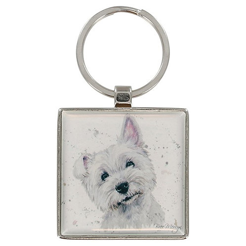 Bree Merryn West Highland Terrier Keyring
