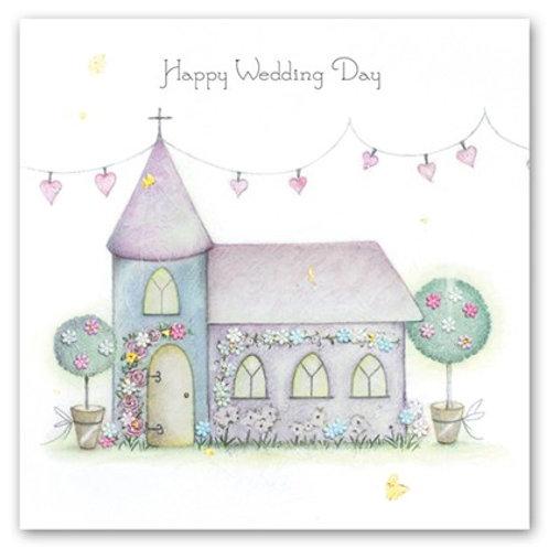 Happy Wedding Day Berni Parker Card