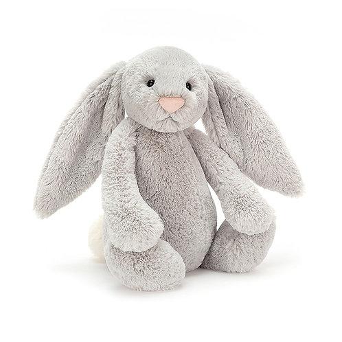 Jellycat Bashful Silver Bunny - Various Sizes