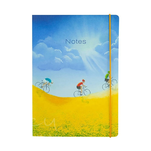 Lucy Pittaway A5 Yellow Fields Notebook