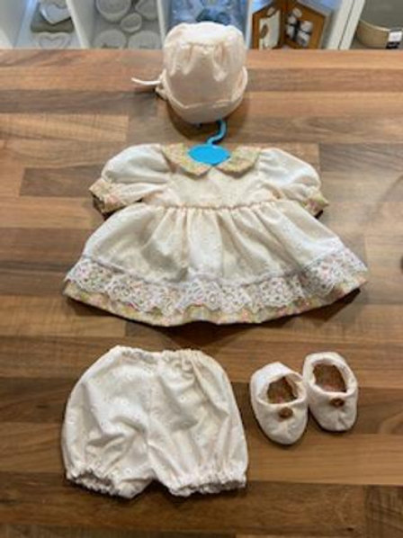 Pink Rose and Cream 4 Piece Dolly Set