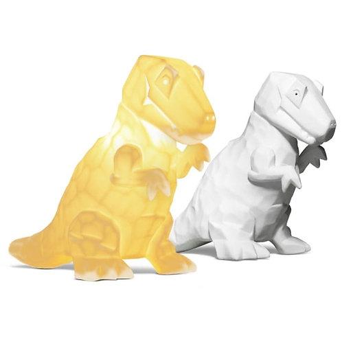 Ceramic Dinosaur Lamp