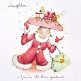 Berni Parker Daughter- all that glistens Card