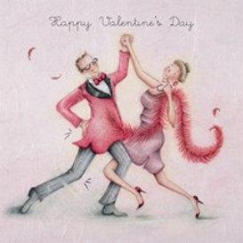 Happy Valentines Day Berni Parker Card