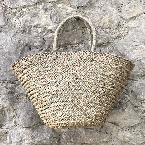 East of India Shopping Basket - Natural