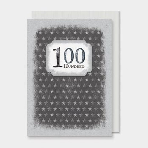 100th Birthday East of India Card