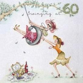 Swinging at.... 60 Berni Parker Card