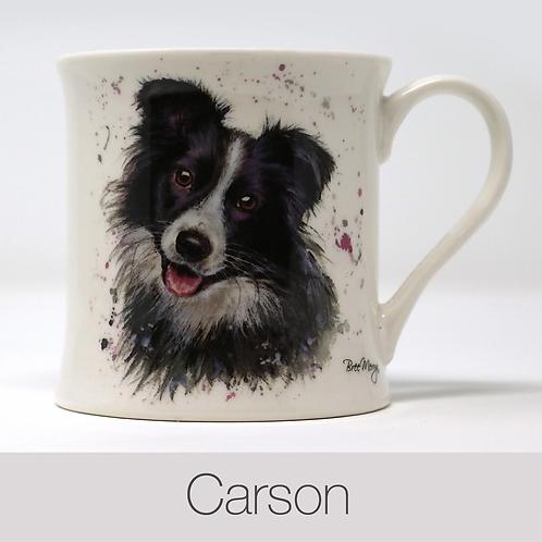 Bree Merryn Carson Collie Mug