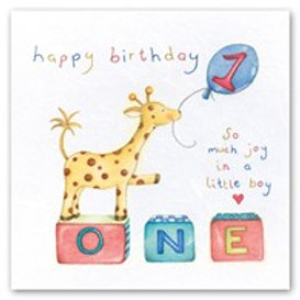 Happy Birthday... so much joy in a little boy.. 1 Berni Parker Card