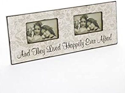 Happily Ever After Double Frame