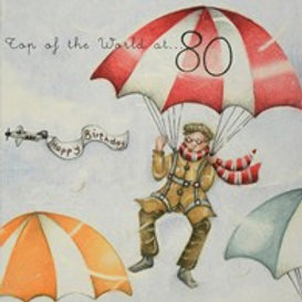 Top of the world at... 80 Berni Parker Card