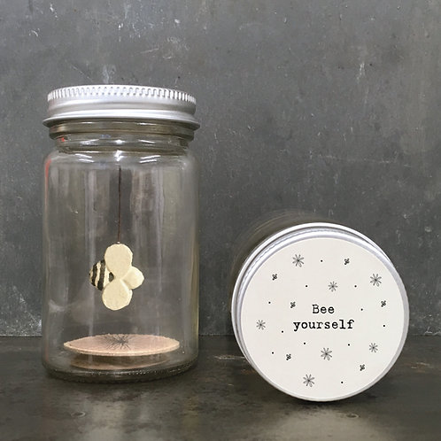 East of India World in a jar - Bee yourself