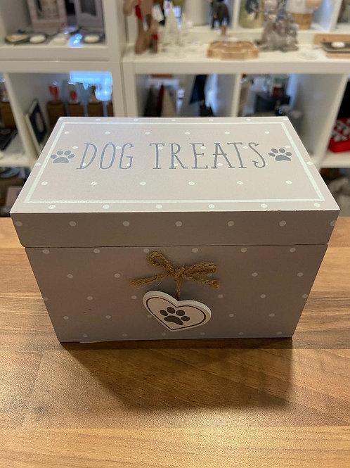Lilac Dog Treat Box