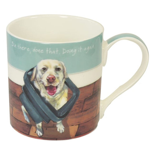 The Little Dog Laughed Bin There Mug