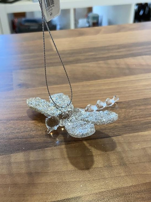 Glass Hanging Dragonfly