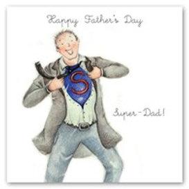 Super Dad Berni Parker Card