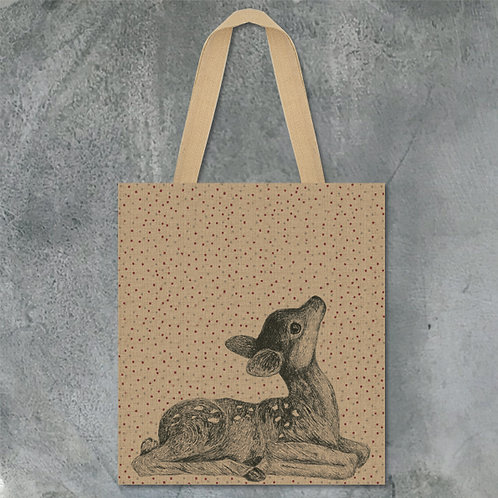 East of India Jute Shopping Bag - Fawn
