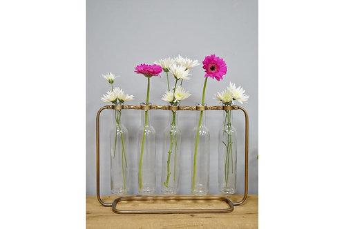 Glass Bottles Flower Holder