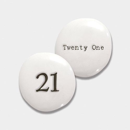 East of India 21 Porcelain Pebble