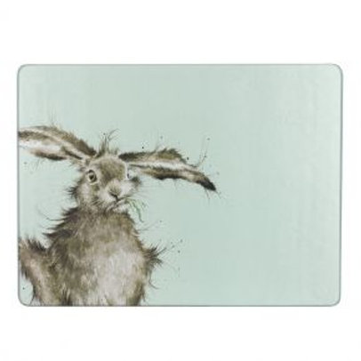 Wrendale Hare Glass Worktop Saver