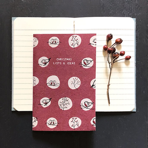 East of India Small Book - Christmas List's and Ideas