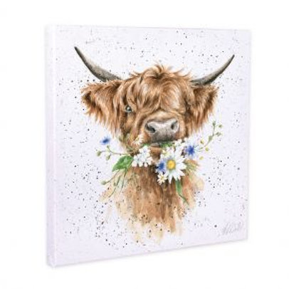 Wrendale Daisy Coo Small Canvas
