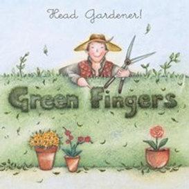 Head Gardener... Green Fingers Berni Parker Card