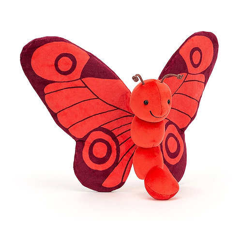 Jellycat Breezy Butterfly Poppy