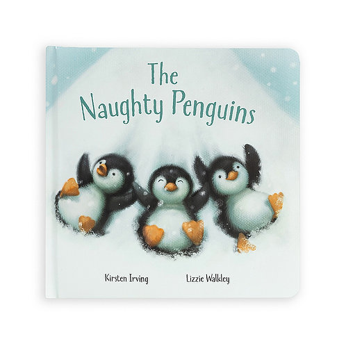 Jellycat The Naughty Penguin Book