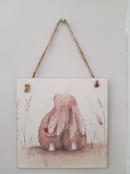Always Hare Wooden Forever Card