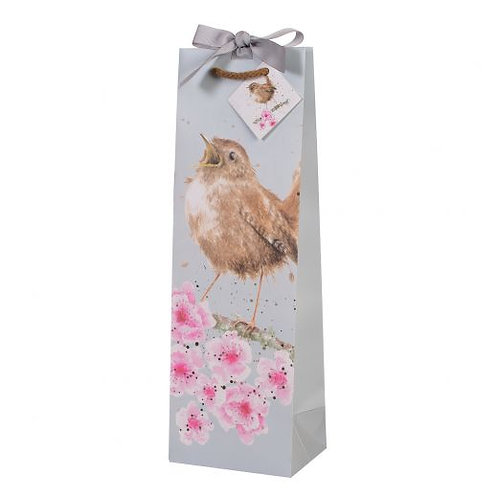 Wrendale Bottle Bag - Garden Birds