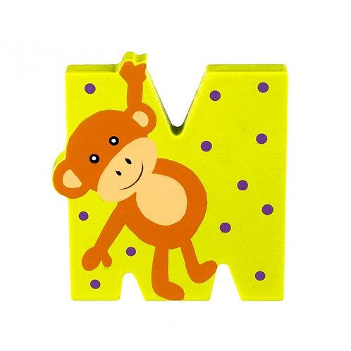 Orange Tree M is for Monkey
