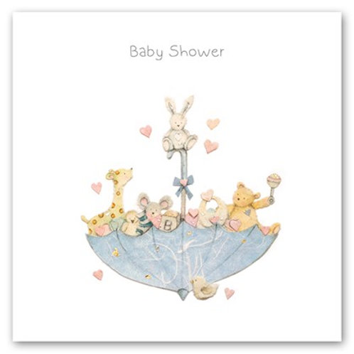 Baby Shower Berni Parker Card