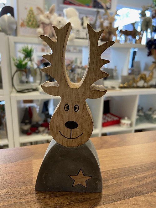 Concrete Reindeer