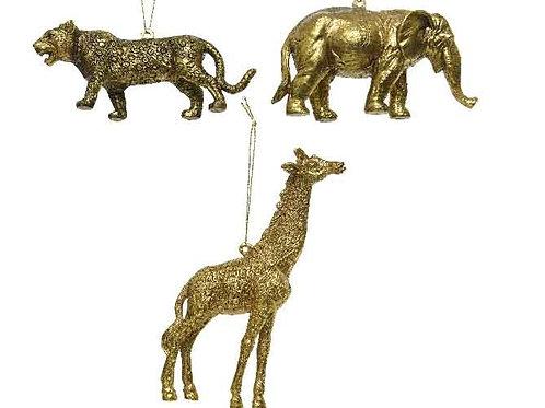 Set (3) Animal Decorations