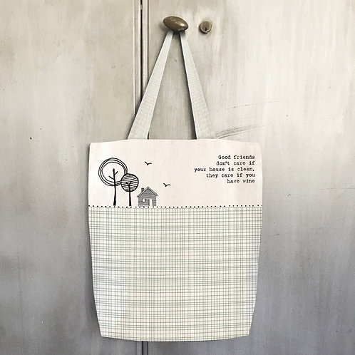 Shopping Bag - Good friends don't care