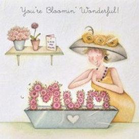 You're Blooming Wonderful Berni ParkerCard