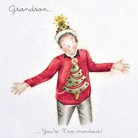 Berni Parker Grandson- You're Tree-mendous