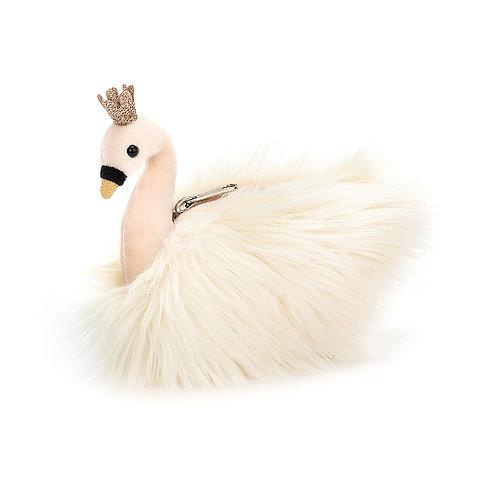 Jellycat Fluffy Fancies Swan Purse
