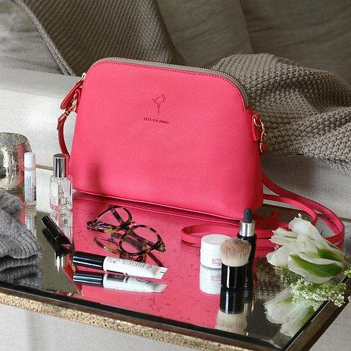 Sophie Allport Mini Shoulder Bag - Flamingos