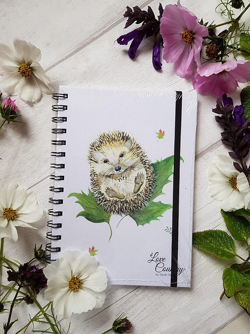 Love Country Mr Prickles Notebook