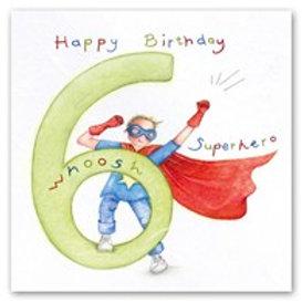 Happy Birthday... Whoosh superhero... 6 Berni Parker Card