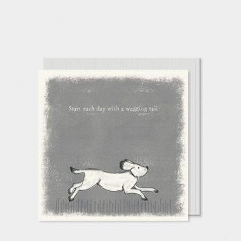 Running Dog East of India Card