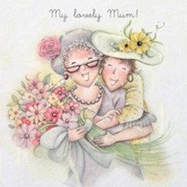 My Lovely Mum Berni Parker Card