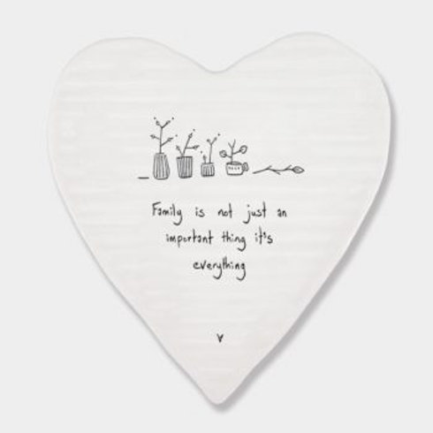Family is everything... Heart Coaster