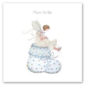 Mum to be Berni Parker Card