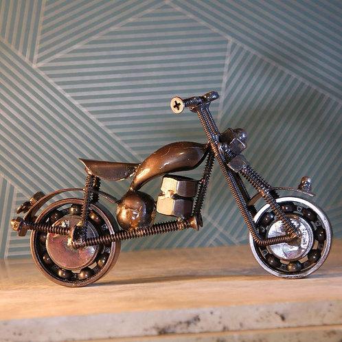 Shared Earth Recycled Bike Parts Motorbike